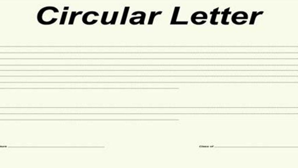 Pengertian Surat Edaran